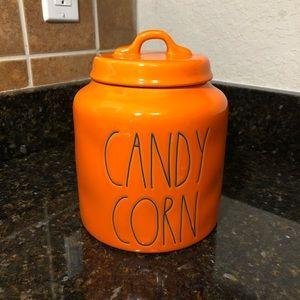 Rae Dunn Candy Corn Canister 2020 Halloween